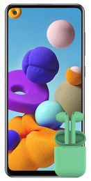 Samsung Galaxy A21s 32GB + Hiper Air Soft
